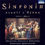 Sinfonie Avanti L'opera, Intorno A Mozart