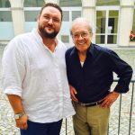 with Luis Alva, 2015